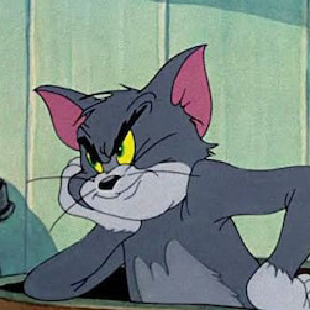 Tom and Jerry cell art